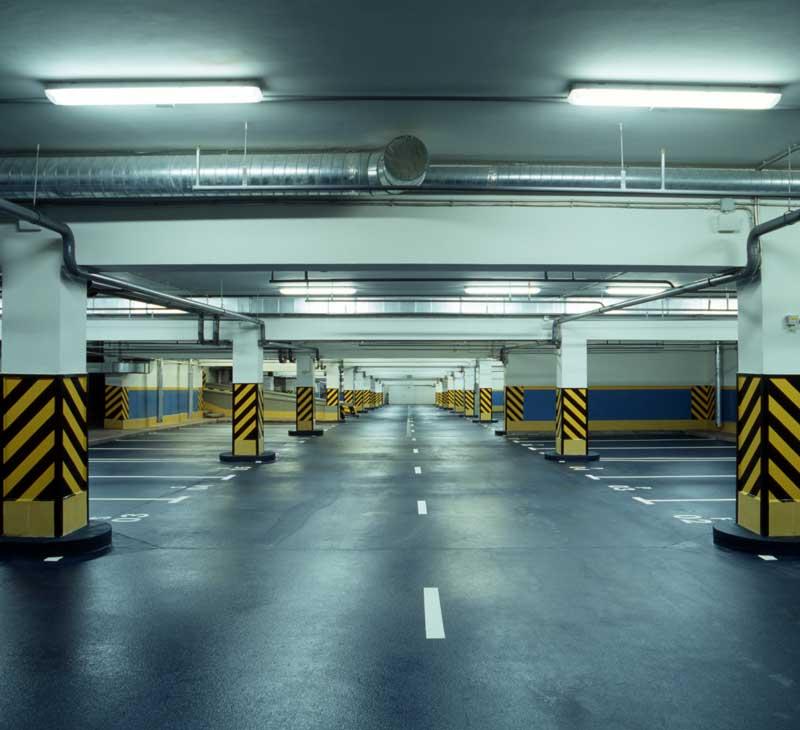 Καθαρισμοί χώρων parking